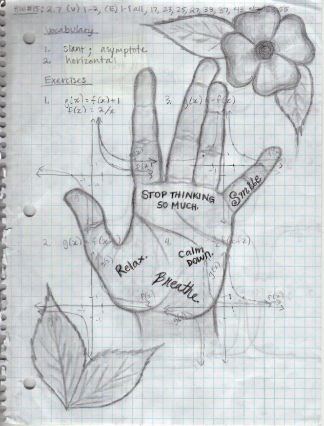 Artwork by Notre Dame student Nandini Gupta