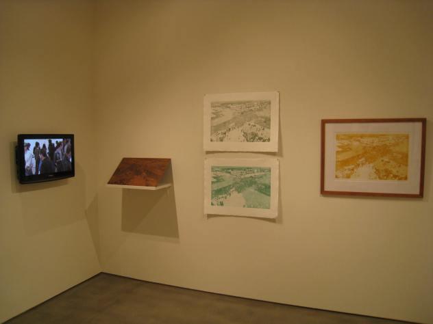 Pamela Wilson-Ryckman's aquatint proofs, copper plate and framed print