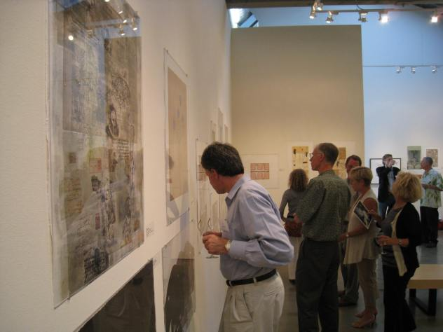 Monotype Marathon Gallery at the ICA. Print Auction, July 18
